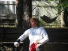 Леднева Татьяна дает мастер класс по фехтованию
